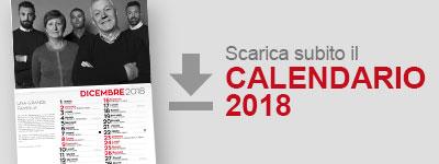 Scarica il Calendario 2018