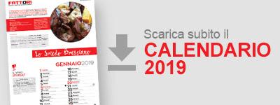 Scarica il Calendario 2019