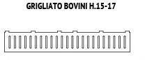 Grigliati Bovini H.15-17