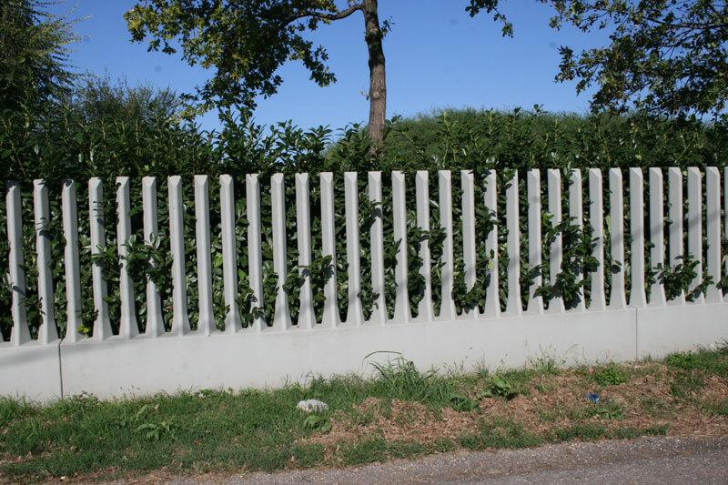 Recinzioni industriali in cemento prefabbricate for Immagini recinzioni