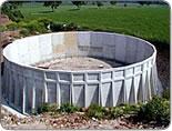 Vasche prefabbricate in cemento per stoccaggio liquami